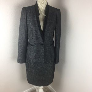 Antonio Melani Skirt Suit Black White 6